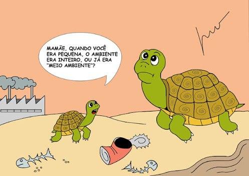 Humor verde